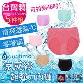 女性 MIT中腰超彈力內褲 FREE SIZE 涼感紗 台灣製造 no.7915 (5件組) 席艾妮shianey