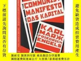 二手書博民逛書店英文原版罕見The Communist Manifesto an