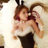 性感可愛兔女郎激情小胸套裝兔子裝緊身連體角色扮演制服情趣內衣【甲乙丙丁生活館】