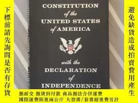二手書博民逛書店美國憲法罕見The Constitution of the United States of AmericaY