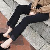 夏季2018新款女褲高腰喇叭褲