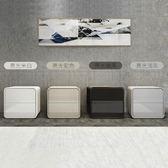 現貨-床頭櫃 ins床頭櫃整裝免安裝帶鎖北歐簡約現代白色實木灰色床邊櫃輕奢風lx[7-10]