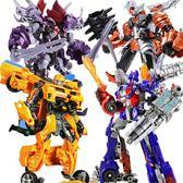 變形金剛變形玩具恐龍金剛5大黃蜂汽車機器人合金模型戰士男孩兒童正版6歲 年終尾牙特惠