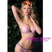 Chasney Beauty-craft山茶花S-L蕾絲丁褲(粉紅)