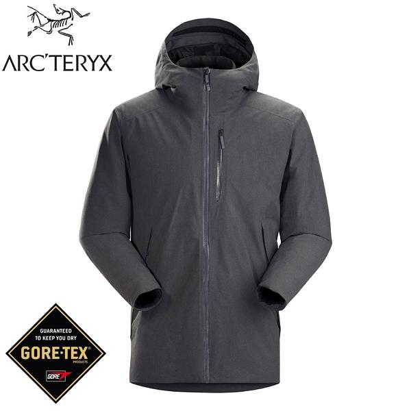 【ARC'TERYX 始祖鳥 男 Radsten GT化纖外套《黑灰》】25881/Gore-Tex/派克大衣/夾克/防風雨