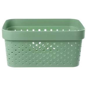 荷蘭 Curver INFINITY系列 DOTS樣式款 收納盒 4.5L 綠色