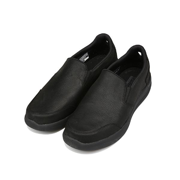 SKECHERS GO WALK STABILITY 全黑 男 避震 緩衝 固特異橡膠 運動 健走鞋 216173BBK