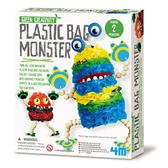 《4M美勞創作》環保袋怪獸 ╭★ JOYBUS玩具百貨