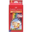 《享亮商城》111610 10色學齡油性六角色鉛筆-兒童專用