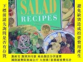 二手書博民逛書店sensational罕見salad recipes 絕妙沙拉食