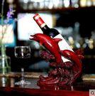 美人魚擺件創意樹脂酒櫃紅酒架擺件