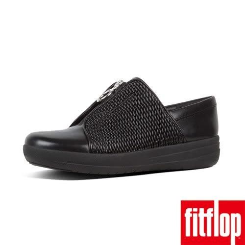 【FitFlop】精選科技中底休閒鞋-黑色