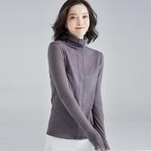 羊毛針織衫-半高領純色貼身長袖秋冬女毛衣4色73uj24【巴黎精品】