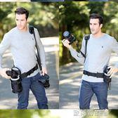 相機帶 JJC戶外攝影固定腰帶 登山騎行腰包單反相機鏡頭筒袋卡盒配件收納 歐萊爾藝術館