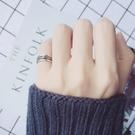 戒指 愛洛奇 s925銀戒指女復古泰銀麻花開口戒指指環民族風時尚尾戒子 星河光年