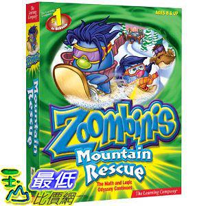 [美國直購 ShopUSA] Zoombinis Mountain Rescue by The Learning Company $654