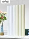 壁貼 防水防潮牆紙自黏白色木紋波音軟片衣櫥櫃門桌子舊家具翻新牆貼紙 618購物節