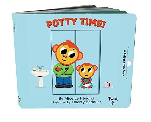 【麥克書店】POTTY TIME /幼兒操作書《主題: 自主管理.戒尿布》