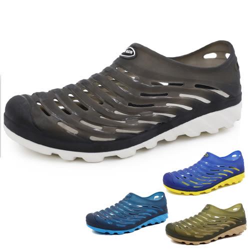 透氣排水 EVA輕量防滑防水 懶人鞋 洞洞鞋 海灘鞋 59鞋廊
