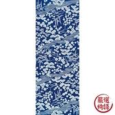 【日本製】【和布華】 日本製 注染拭手巾 藍色 和風松竹梅圖案 SD-4977 - 和布華