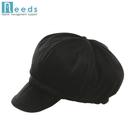 又敗家@日本NEEDS吸濕發熱護耳帽短帽簷貝雷帽HOT αあったかキャスケット平頂帽軟帽貝蕾帽保暖帽