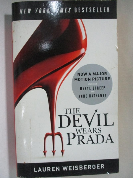 【書寶二手書T1/一般小說_H4X】The Devil Wears Prada_Lauren Weisberger