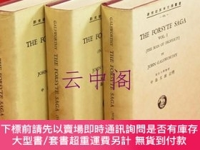 二手書博民逛書店The罕見Forsyte Saga vol.1~3The Man of Property·To Let·In Ch