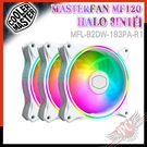 [ PCPARTY ] CoolerMaster MasterFan MF120 HALO 白色 3合1 風扇