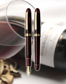 PLATINUM PNB10000 3776 CENTURY BOURGOGNE 酒紅14K金鋼筆附吸水器