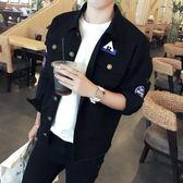 秋季bf港風學生夾克男韓版潮流帥氣寬鬆chic棒球服小清新外套秋裝『韓女王』