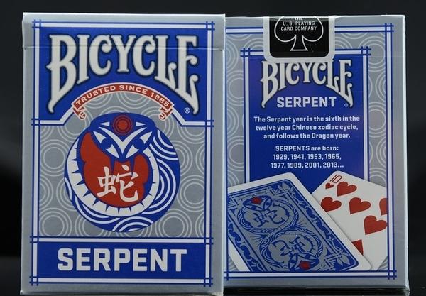 【USPCC 撲克】撲克牌 BICYCLE 808 Serpent 蛇