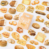 【BlueCat】可愛麵包君盒裝貼紙 手帳貼紙 (46入)
