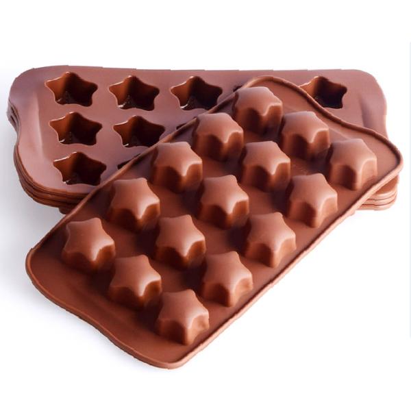 星星 造型製冰盒 冰塊盒 創意製冰格 冰塊盒 製冰格 大容量 食品矽膠(V50-2027)