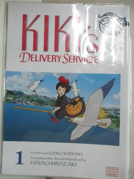 【書寶二手書T1/少年童書_C8H】Kiki's Delivery Service 1_Miyazaki