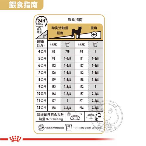 【培菓寵物48H出貨】BHN 法國新皇家飼料《柴犬成犬S26》4KG