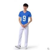 新款啦啦操服裝學生啦啦隊表演服舞台裝足球寶貝拉拉隊演出服男  XIONG