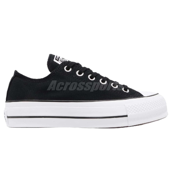 Converse Chuck Taylor All Star Lift 黑 白 帆布鞋面 厚底鞋 增高 基本款 女鞋【ACS】 560250C