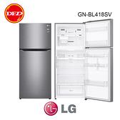 含基本安裝 樂金 LG GN-BL418SV 直驅變頻雙門冰箱 星辰銀 / 393L 直驅變頻壓縮機精準溫控 公司貨