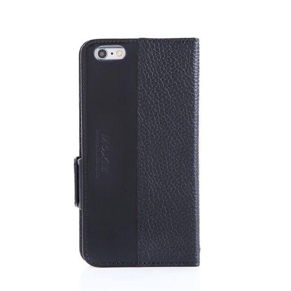 X-SHELL IPHONE 6 plus/6s plus 防電磁波真皮手機皮套 (荔枝紋 經典黑)