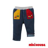 MIKI HOUSE 工程車反摺牛仔褲