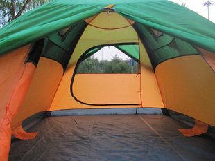 三人雙門帳篷