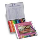 日本好賓專家級油性色鉛筆Holbein Artists' color pencil 好賓24色油性色鉛筆(鐵盒) *op920