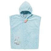 【奇哥】比得兔吸濕快乾浴袍-藍(6M~2Y)