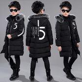 兒童裝男童冬裝棉衣外套男孩加厚棉襖中大童羽絨棉服冬季 優樂居