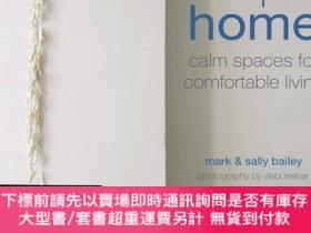 二手書博民逛書店Simple罕見Home: Calm spaces for comfortable living簡約家居:舒適地生