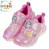 《布布童鞋》Moonstar冰雪奇緣聯名款粉色艾莎兒童運動鞋(16~19公分) [ I9R414G ]