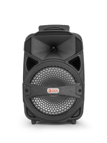 無線廣場舞音響行動充電拉桿戶外音箱帶話筒藍芽重低音炮大功率播放器便攜式  AFT  魔法鞋櫃