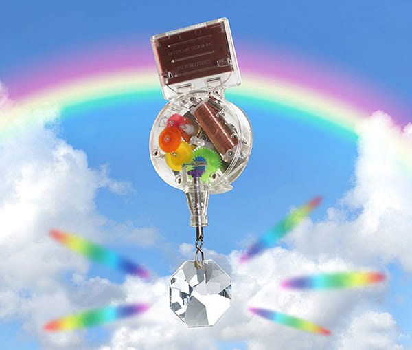 賽先生科學工廠 科學玩具 KIKKERLAND 太陽能彩虹製造機 吊掛式
