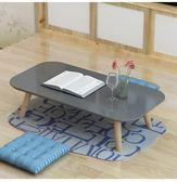 榻榻米小茶幾飄窗小書桌日式炕桌簡約實木小圓茶幾窗臺茶桌矮桌   夢曼森居家
