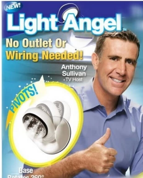 【現貨】Light angel 感應燈 TV360度 自動感應燈 旋轉LED燈 360度感應燈 180度感應燈 防盜燈 照明燈